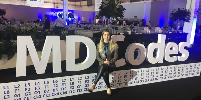 A Dra Samantha Maia participou, do evento MD Codes Distinction - Tour Brasil
